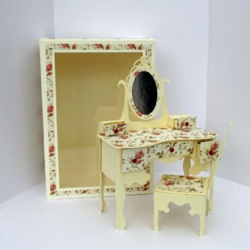 Dressing Table & Chair Template